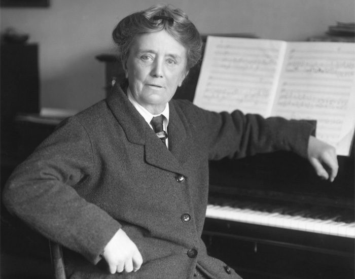 Ethel Smyth   Quelle: National Portrait Gallery
